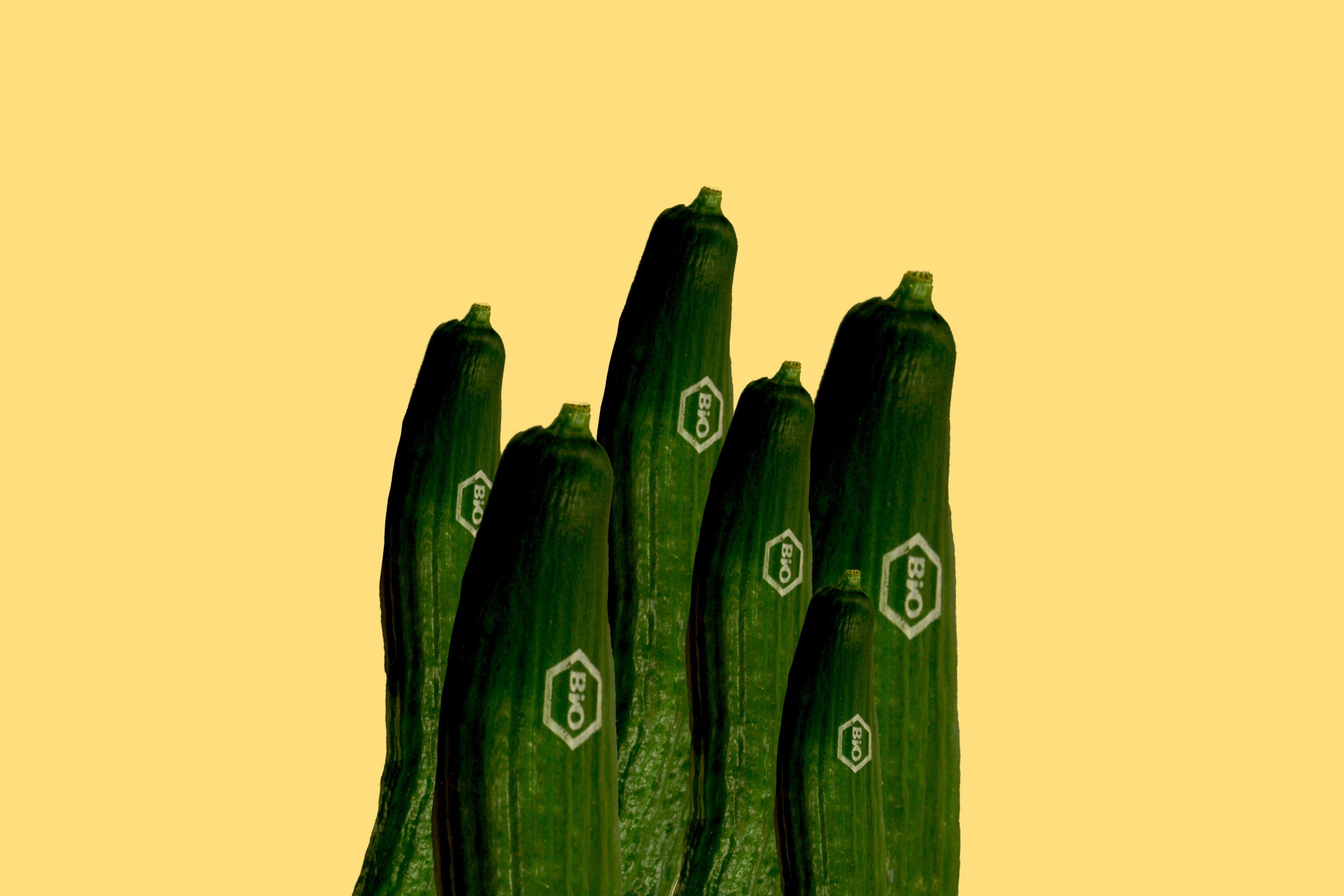 Bio-Laser-Label für Gemüse und Obst