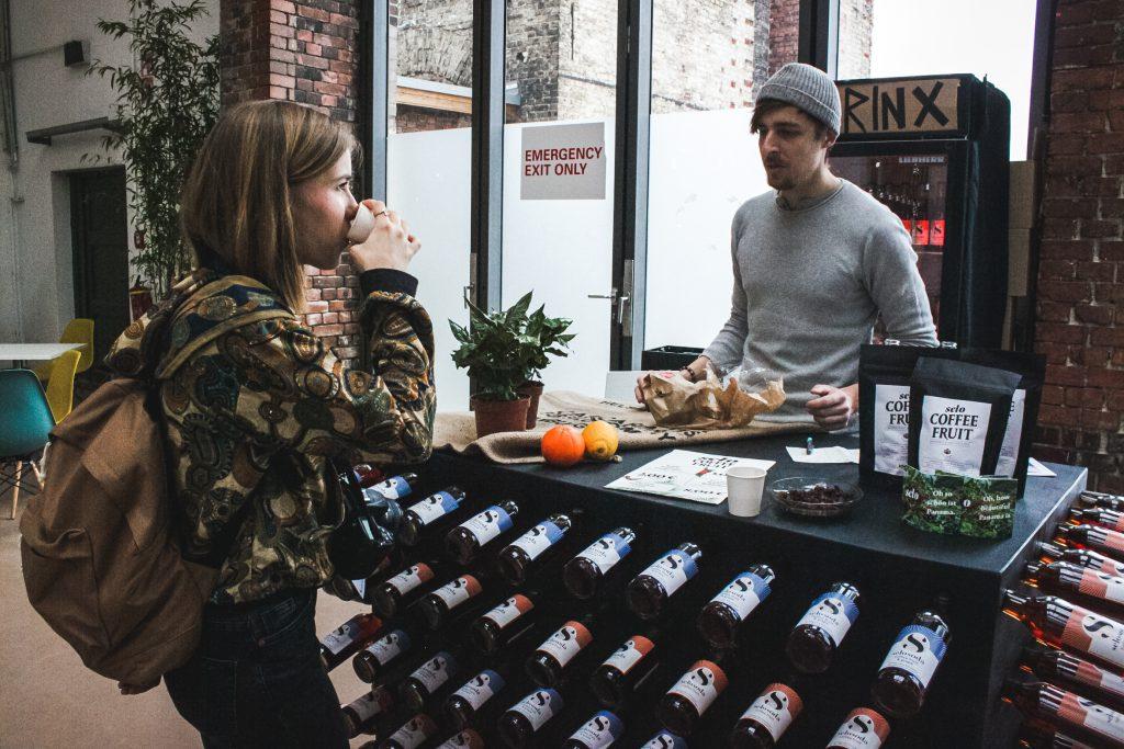 Selo Soda, nachhaltige Getränke, Koffein, Limo, Kaffeekirsche,hEthical Fashion, Show, Berlin