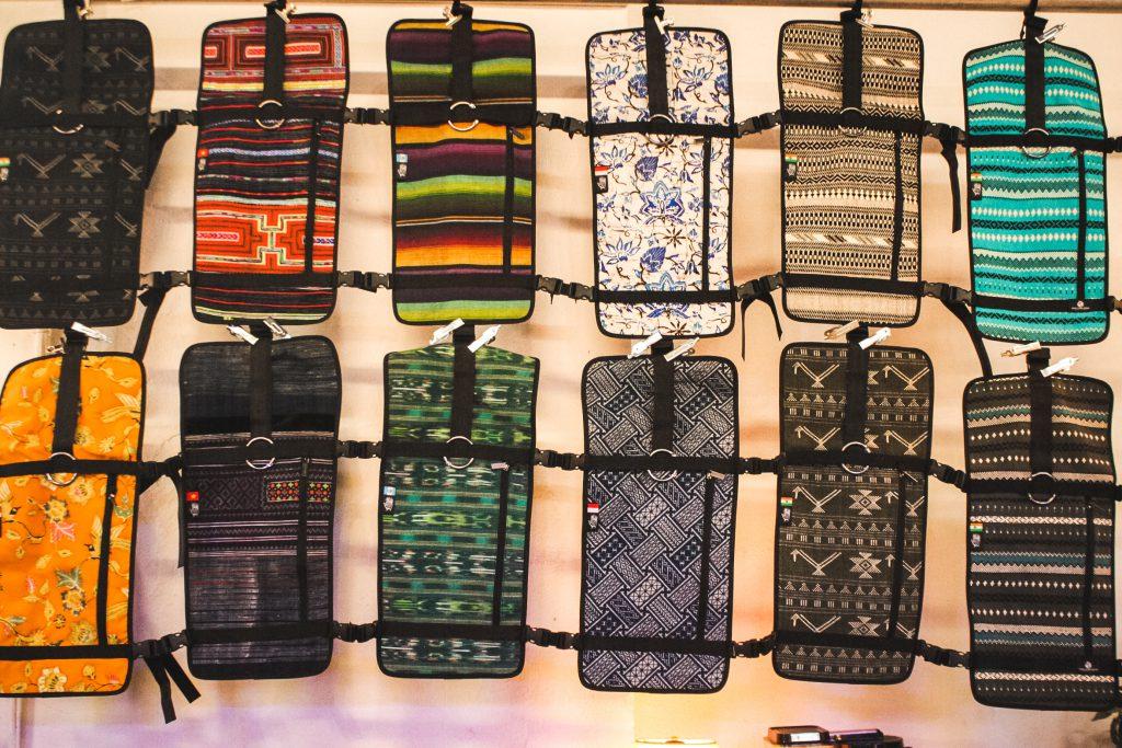 Ethical Fashion, Ethnotek, Traditionelle Muster, Muster, Rucksäcke, Taschen,Show, Berlin