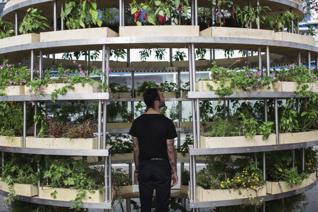 Willkommen im Urban Garden der Zukunft. | Photo: Niklas Adrian Vindelev